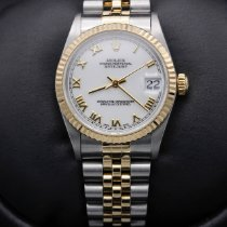 Rolex Lady-Datejust Gold/Steel 31mm White Roman numerals United States of America, California, Huntington Beach