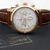 Breitling Transocean Chronograph Oro rosa 43mm Plata Sin cifras España, Barcelona