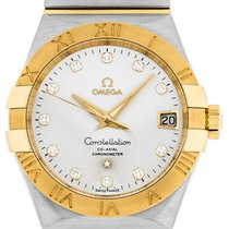 Omega Constellation Men new Automatic Watch with original box 123.20.38.21.52.002