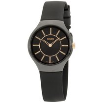 Rado True Thinline Ceramic 30mm Black United States of America, New Jersey, Somerset