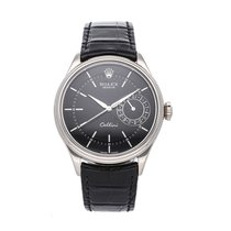 Rolex Cellini Date White gold 39mm Black No numerals United States of America, Pennsylvania, Bala Cynwyd