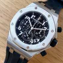 Audemars Piguet Royal Oak Offshore Lady usados 37mm Negro Cronógrafo Fecha Caucho