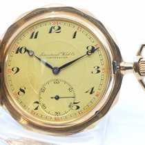 IWC Watch pre-owned 1919 Rose gold 53mm Arabic numerals Manual winding Watch only