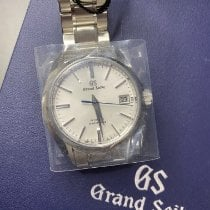 Seiko Grand Seiko Steel 40.2mm Silver No numerals