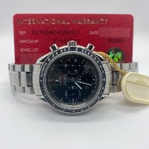 Omega Speedmaster Date pre-owned 40mm Grey Chronograph Date Steel