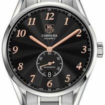 TAG Heuer Carrera Calibre 6 Steel 39mm Black Arabic numerals United States of America, Florida, Sarasota