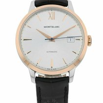 Montblanc Heritage Spirit Gold/Steel 39mm Silver Roman numerals United States of America, Florida, Sarasota