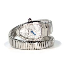 Bulgari pre-owned Quartz White Sapphire crystal