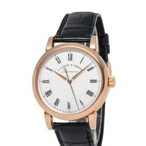 A. Lange & Söhne Richard Lange Rose gold 40.5mm Silver Roman numerals United States of America, New York, Hartsdale