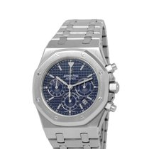Audemars Piguet Royal Oak Chronograph Steel 39mm Blue United States of America, New York, Hartsdale