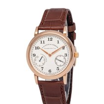 A. Lange & Söhne 1815 Rose gold 36mm Silver Arabic numerals United States of America, New York, Hartsdale