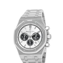 Audemars Piguet Royal Oak Chronograph Steel 41mm Silver United States of America, New York, Hartsdale