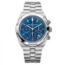 Vacheron Constantin Overseas Chronograph Steel 42.5mm Blue No numerals United States of America, New York, New York