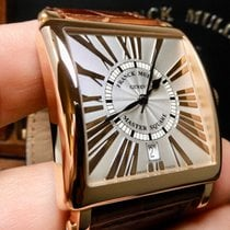Franck Muller Master Square Rose gold 37mm Silver United States of America, North Carolina, Winston Salem