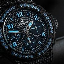 Hublot Big Bang 41 mm Steel 41mm Black Arabic numerals