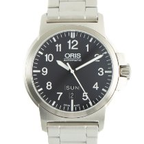 Oris Steel 42mm Automatic 7641-41 pre-owned