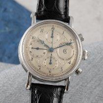 Chronoswiss Chronometer Chronograph Steel 38mm Silver