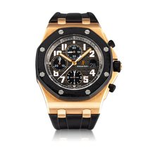 Audemars Piguet Royal Oak Offshore Chronograph Rose gold Black United States of America, New York, New York