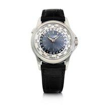Patek Philippe World Time Platinum Blue United States of America, New York, New York