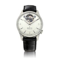 Zenith Elite Tourbillon Steel Silver United States of America, New York, New York