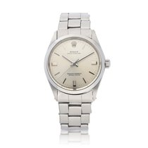 Rolex Oyster Perpetual 34 Steel Silver United States of America, New York, New York