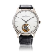 Jaeger-LeCoultre Master Ultra Thin Tourbillion White gold Silver United States of America, New York, New York