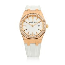 Audemars Piguet Royal Oak Lady Rose gold White United States of America, New York, New York