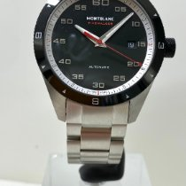 Montblanc Steel Automatic Black Arabic numerals 41mm new Timewalker