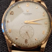 Universal Genève Yellow gold 38mm Manual winding Ref.11217 pre-owned