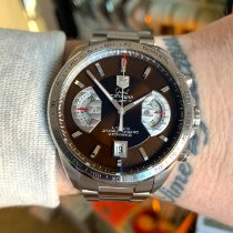 TAG Heuer Grand Carrera Steel 43mmmm Brown No numerals United Kingdom, March