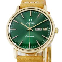 Omega Genève Steel 34mm Green No numerals United States of America, Utah, Draper
