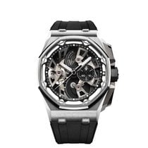 Audemars Piguet Royal Oak Offshore Tourbillon Chronograph 26421ST.OO.A002CA.01 Não usado Aço 45mm Corda manual