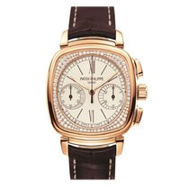 Patek Philippe Chronograph White gold 39mm Silver Roman numerals United States of America, New York, New York
