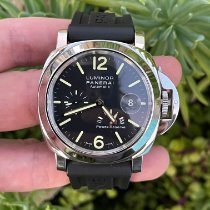 Panerai Luminor Power Reserve pre-owned 44mm Black Rubber
