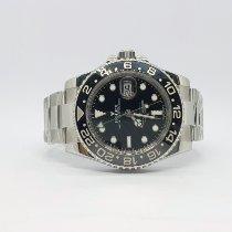 Rolex GMT-Master II Steel 40mm Black No numerals UAE, Sharjah