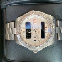 Breitling Aerospace Avantage Titanium 42mm Silver Arabic numerals United States of America, Texas, Schertz