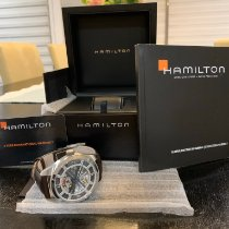 Hamilton Khaki Field Skeleton Steel 42mm Transparent
