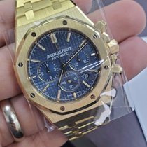 Audemars Piguet 26320BA.OO.1220BA.02 Yellow gold 2017 Royal Oak Chronograph 41mm pre-owned United States of America, New York, New York