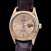 Rolex 1601 Желтое золото 1961 Datejust 36mm подержанные