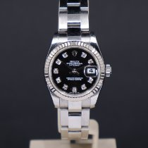 Rolex Lady-Datejust Stål 26mm Sort Danmark, Aarhus C
