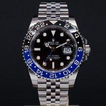 Rolex GMT-Master II Stål 40mm Sort Ingen tal Danmark, Aarhus C