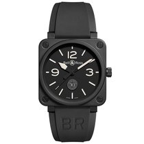 Bell & Ross BR 01-92 Steel 46mm Black Arabic numerals United States of America, Illinois, Chicago