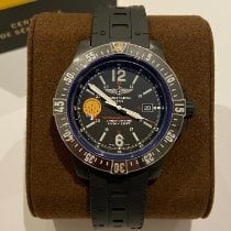 Breitling Carbon Quartz Black Arabic numerals 45mm new Colt Skyracer