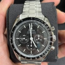 Omega Steel Manual winding Black 42mm new Speedmaster Professional Moonwatch