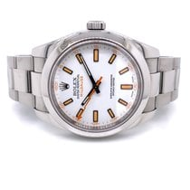 Rolex Milgauss Steel 40mm White No numerals United States of America, California, Beverly Hills