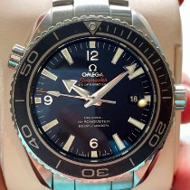 Omega Seamaster Planet Ocean pre-owned 45,5mm Black Date Steel