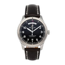 Breitling Aviator 8 Steel 41mm Black Arabic numerals
