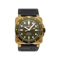 Bell & Ross Bronze Automatic Green No numerals 42mm pre-owned BR 03