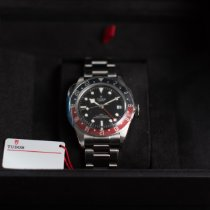 Tudor Black Bay GMT Steel 41mm Black No numerals United States of America, New York, Brewster