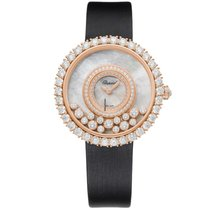Chopard 204445-5001 Růžové zlato 2021 Happy Diamonds 36mm nové